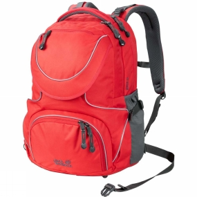 Jack Wolfskin Kids Ramson 26 Pack Tulip Red