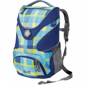 Jack Wolfskin Kids Ramson Top 20 Pack Blue Woven Check
