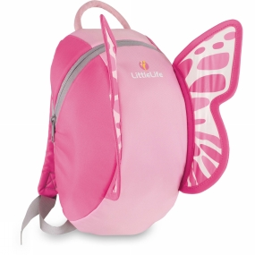LittleLife Kids Butterfly Backpack One Colour