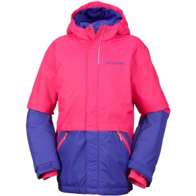 Columbia Columbia Youths Slope Star Jacket Punch Pink / Clematis Blue