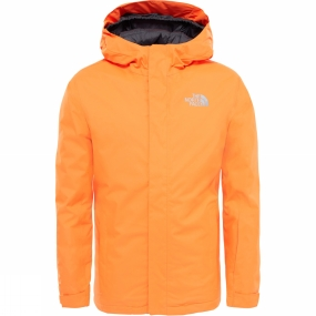 The North Face The North Face Kids Snowquest Jacket Power Orange