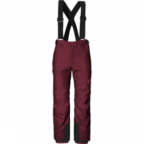 Jack Wolfskin Jack Wolfskin Kids Snow Ride Texapore Insulated Pants Age 14+ Garnet Red