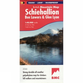 Harvey Maps Schiehallion British Mountain Map 1:40K