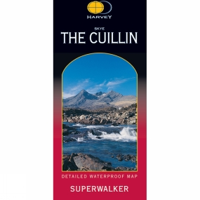 Harvey Maps Skye The Cuillin Map 1:25K
