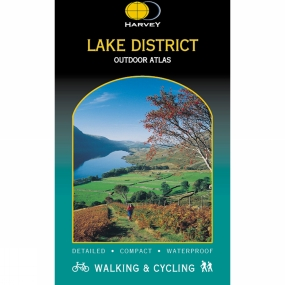 Harvey Maps Lake District National Park Outdoor Atlas