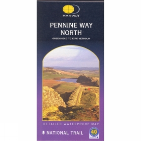 Harvey Maps Pennine Way North