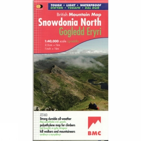 Harvey Maps Snowdonia North British Mountain Map 1:40K