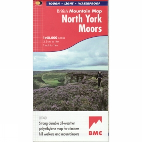 Harvey Maps North York Moors British Mountain Map 1:40K