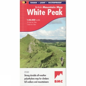 Harvey Maps White Peak British Mountain Map 1:40K