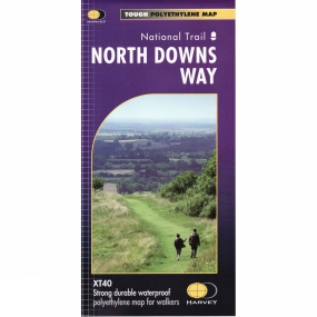 Harvey Maps North Downs Way Map 1:40K