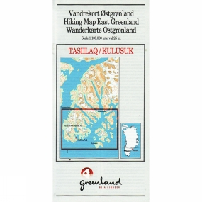 Harvey Maps Hiking Map East Greenland: Tasiilaq