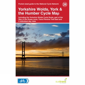 Sustrans Yorkshire Wolds, York and the Humber Cycle Map