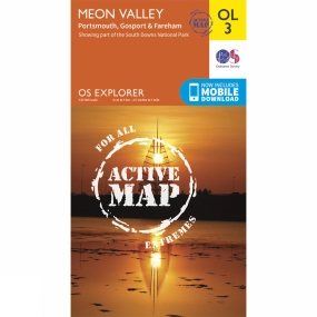 Active Explorer Map OL3 Meon Valley