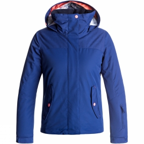 Roxy Roxy Girls Jetty Solid Jacket Age 14+ Sodalite Blue