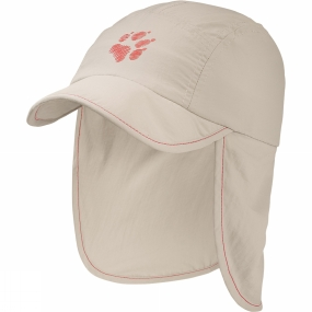 Jack Wolfskin Kids Supplex Canyon Cap Light Sand