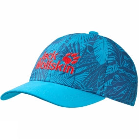 Jack Wolfskin Kids Jungle Cap Turquoise