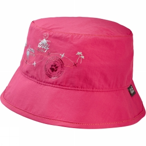 Jack Wolfskin Kids Supplex Journey Hat Tropic Pink