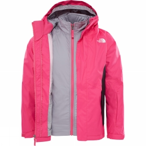 The North Face The North Face Kira Triclimate Jacket Age 14+ Petticoat Pink