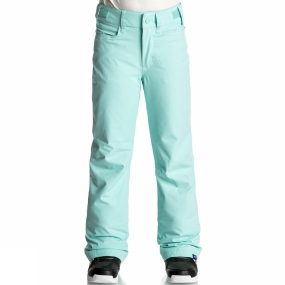 Roxy Roxy Girls Backyard Pants Age 14+ Aruba Blue