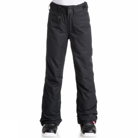 Roxy Roxy Girls Backyard Pants True Black