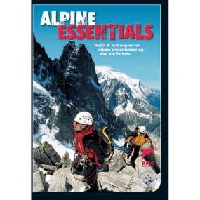 Br Mountaineering Co Alpine Essentials is a training film which shows the essential skills and techniques necessary for Alpine mountaineering and climbing. It follows two mountaineers on a multi day trip in the Swiss Alps. See how they cope with their environment and what steps they take to both enjoy the experience and return safely.The dvd contains a range of separate chapters which expand upon the topics covered in the film, including: glacier travel; crevasse rescue; moving together; abseiling; ice axes; crampons; via ferrata; using huts; clothing and equipment.Filmed in Switzerland in the summer of 2006 the skills covered are appropriate to all glaciated terrain. This instructional climbing film is produced jointly by the Mountaineering Council of Scotland and the British Mountaineering Council. Alpine Essentials will educate and inspire all those wanting to go alpine climbing and mountaineering. The techniques described are relevant to people operating at all grades and the dvd is ideal forthose taking their first steps in alpine terrain. Filmed in Switzerland in the summer of 2006, the skills covered are appropriate to all glaciated terrain. The DVD is produced jointly by the Mountaineering Council of Scotland and the British Mountaineering Council.