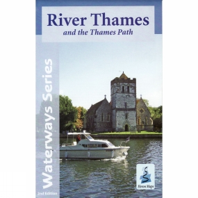 Heron Maps River Thames and the Thames Path Map 2nd Edition