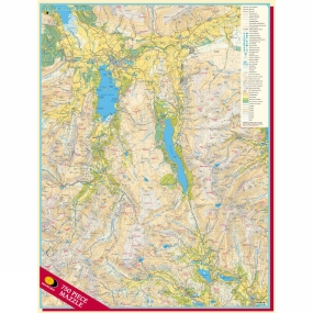 Harvey Maps Central Lake District Mazzle