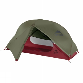 MSR The Hubba NX solo backpacking tent from MSR offers the most livable accommodation in a lightweight freestanding design. Engineered for 3-season camping, the light and compact tent won