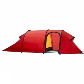 Hilleberg A great choice for any outing in any condition where low weight is of equal importance to strength, reliability, and roominess. The Nammatj GT with extended vestibule, is arguably one of Hillebergs most versatile tents. Made with their own Kerlon 1800 outer tent fabric and employing 10 mm poles, it is equal in strength and stability to Hillebergs Keron models, but because of its single entrance and vestibule, it is impressively light in weight. It is an exceptional choice for all season use in exposed and/or above tree line terrain, or for demanding, extended winter camping trips in extreme conditions, yet it is easily light enough for long trips in more moderate climes. The Nammatj GT model has a smaller footprint then its Keron counterpart models, yet it has the same inner tent square footage, and so is excellent for limited-space sites such as narrow ridge lines or ledges. The tents