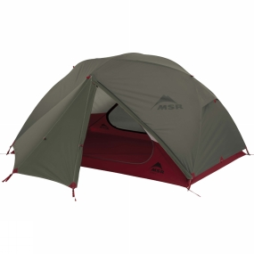 MSR The Elixir 2 Backpacking Tent 2018 from MSR is a 2-person backpacking tent that offers enough space for you and your gear within a quick and simple design. The tent is easy to set up thanks to the colour coded poles and the inner canopy clips onto the poles. With 2 larger front entry ways and vestibules, you can keep all your gear out of the weather and still get easy access into the tent. The design of the tent combines a strong flysheet with breathable mesh to offer a combination of ventilation and protection. Inside the tent there are 2 gear lofts for you to keep all your essentials close to hand and up off the floor of the tent. The included footprint helps protect the base of the tent helping to prolong its life.