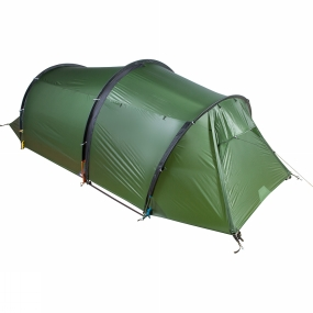 Nigor The Dodo 3 Tent is a three-person, ultra-lightweight three-season tent. Its three-pole external sleeve tunnel design is simple to set up and the vestibule provides great storage space in all weather conditions. Large hooded vents to the front and rear of the flysheet and mesh panels added to the inner tent allow plenty of ventilation and help to reduce the build up of condensation.The GorLyn flysheet fabric is made from high-tenacity nylon with a yarn thickness of 20 denier, making it light in weight but strong enough to support you in difficult conditions. The tent floor is made from a nylon ripstop with a TPU coating to give it a hydrostatic waterproof rating of 10,000mm.This strong three person tent has a stable construction and can be used in spring, summer, autumn and even winter. It can be used at high altitude as well as during local trips in the weekend.