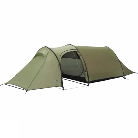 Vango The Xenon UL 2+ Tent is perfect for those gear intensive trips, featuring the additional storage granted by a three pole tunnel tent design. It