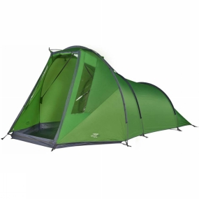 Vango The Galaxy 300 Tent 2018 from Vango is ideal for anyone looking for a tent with a large open space to either store gear such as bikes and rucksacks or gather round to play games or eat but still want something that packs down small and is still lightweight to transport.  With the clip in groundsheet in the front porch, you get a clean and dry place to keep everything. Featuring a sturdy tunnel design and TBS II, you get a stable tent that can stand up to wind and rain.