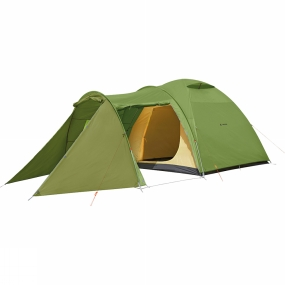 Vaude Room for the whole family. The Campo Casa XT 5P Tent is a comfortable three-season all-round tent with a large vestibule and additional entrance. The vestibule is a great place to sit, eat and play and in in the middle of the dome there