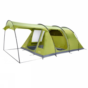 Vango With its open, airy living space and enough headroom to stand up in, the Vango Calder 500 Tent is a great choice for family camping. All-in-one pitching and colour coded poles make setting up a breeze, so you can just get on with enjoying your holiday.Two full-size doors make flexible use of the living space, and allow great airflow through the tent on hot, sunny days. In fact, even with the doors closed, Vango