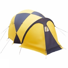 The North Face Designed to provide shelter in the harshest conditions on the planet, the Summit Series Bastion 4 Tent is a four-person tent that is lightweight and strong. Features include a lightweight nylon fly and canopy, and high-low venting with multiple venting options throughout.
