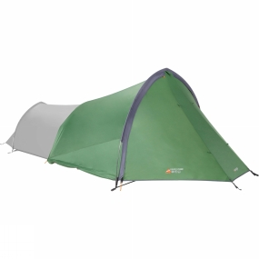 Vango Designed to increase the space of front-entry style trekking tents. The Trek Gear Store from Vango allows multi night expeditions to be a little more comfortable, adding storage space or simply extending the living area.A snug fit is ensured through an elasticated rear section sitting over the front of the tent and with a multi functional fully zipped front door, it provides a dry and comfortable area at the front of the tent, ideal for use in a camp site and wild camping.