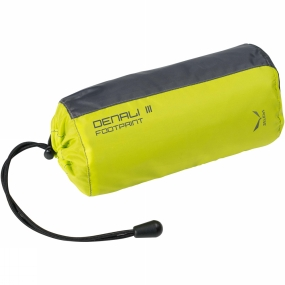 Salewa This Denali III Footprint from Salewa is a protector tarp designed specifically to protect the floor of the Denali II, from stones, tree roots and groundwater for example. It will extend the lifespan of your tent.