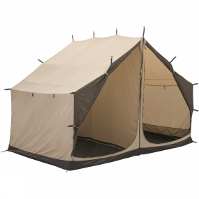 Robens The Prospector Inner Tent from Robens is a great addition to your Prospector Tent. It simply attaches by toggles on the inside of the tent and offers two more private rooms, these rooms are separated by a zip out divider, so you do have the option of making it just one room. Mesh doors on the front can be rolled back and secured with a tab but when fastened they can help keep out bugs and wind-debris while still ensuring a great flow of air.