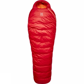 Haglofs A versatile sleepingbag, the Ursus from Haglöfs offers sleep in comfort. This trekking bag insulates with FX dovn, and we