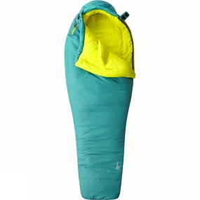 Mountain Hardwear Mountain Hardwear Womens Laminina Z Flame Sleeping Bag Long Emerald
