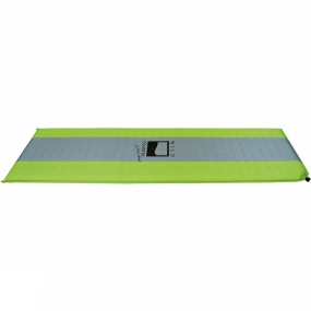 Wild Country Tents The Matterhorn Deluxe Sleeping Mat is self-inflating and offers good-quality insulation from the ground. A silicone print prevents the mat slipping and an extra wide valve ensures quick inflation. Cut outs in the foam help to reduce pack size and weight.