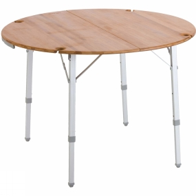 Vango Bamboo Round Table 100cm