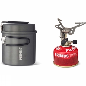 Primus Express Ti Stove with LiTech Kettle