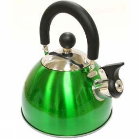 Blue Mountain Blue Mountain Whistling Kettle 2L Green