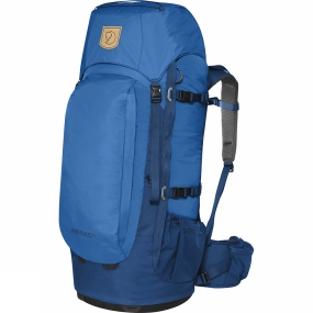 Fjallraven Simple, light backpack for trekkers, backcountry skiers and travellers who like to move about without too much weight. The back provides air circulation and the hipbelt has a gives great support. The length of the back is adjustable and the shoulder straps and hipbelt are designed for a woman