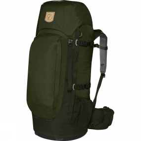 Fjallraven Simple, light backpack for trekkers, backcountry skiers and travellers who like to move about without too much weight. The back panel provides air circulation and the hipbelt gives great support. As in earlier models, the length of the back is adjustable and the shoulder straps and hipbelt are designed for a man