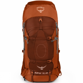Osprey Osprey pride themselves on their attention to detail, and this is apparent throughout the Aether AG 70. It