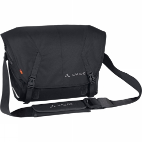 Vaude A big mouth-and the means to back it up. True greatness is revealed in Tecoleo L when you open the lid. In addition to a flexible notebook compartment, the bag offers a whole lotta extra space. A convenient feature: a raincover that will keep your bag and its precious contents high and dry.