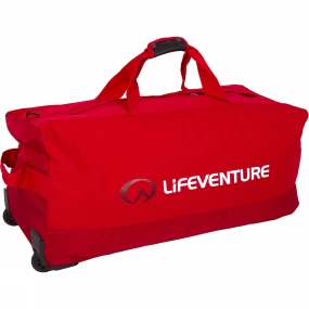 Lifeventure Lifeventure Expedition Duffel Wheeled 120L Red